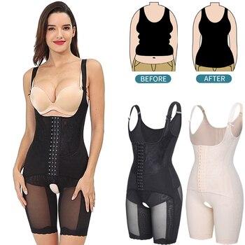 Full Body Shaper Bodysuit Shapewear Women Slimming Sheath Shapewear Belly Slim Waist Trainer Tummy Control Shapers Faja Corset