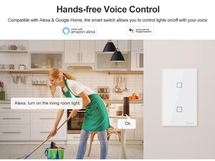 remoto inteligente interruptor de luz ewelink app