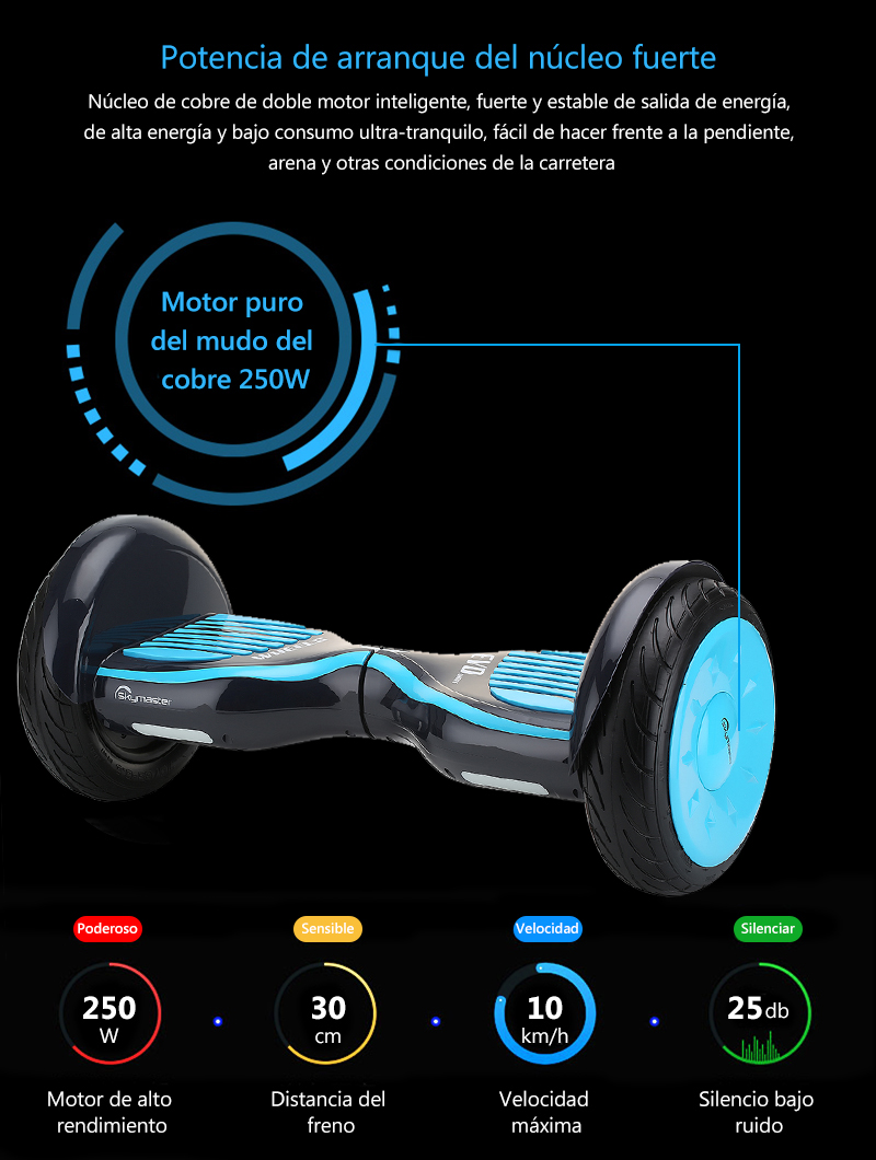 Электрический скейтборд Scotter, электрический скейтборд Patinete Electrico Haverbord Monopatin Eletrico Patinete Electrico Hoverboard 10 pulgadas