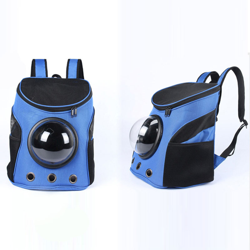 Pet Dog Carrier Backpack Bag Cat Outdoor Hiking Travel Space Portable Capsule Shaped 29