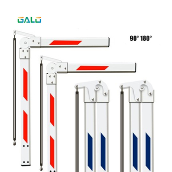 Barrier Gate Arm for car park barrier/automatic gate barrier boom Free elongation barrier gate straight boom 90°/180° Optional car park barrier pd232 double channel loop detector