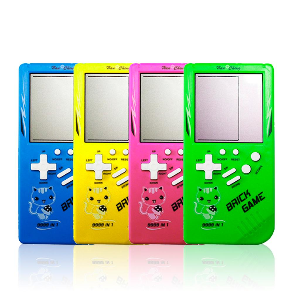 Classic Tetris Game Console Portable Mini Childhood Handheld Games Player Mini Games Console Mini Games Box Games Consoles