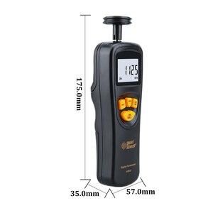 Image 5 - Digital Tachometer Contact Motor Tachometer RPM Meter digital Tach speedometer 0.05~19999.9m/min 0.5~19999RPM Smart Sensor AR925