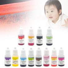 цена на 10ml Handmade Soap Dye Pigments Base Color Liquid Pigment DIY Manual Soap Dye Tool Kit