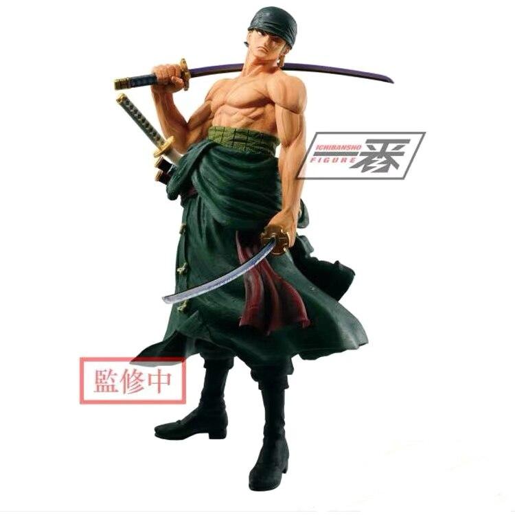 Presale April Original Banpresto One Piece Roronoa Zoro Oversea Limited PVC Action Figure Model Figurine