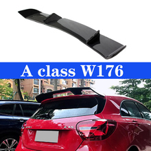 Car Rear Wing CF Spoiler For Mercedes-Benz A-Class W176 A180 A200 A260 A45 R Style Spoilers 2013-2018