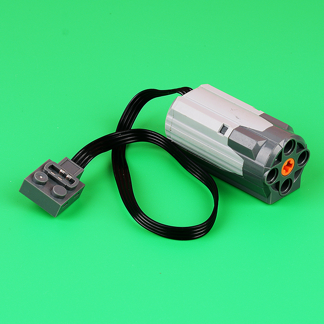 Electric Power Functions Medium Motor 3x6x3    Wire MOC DIY building block accessories parts 58120 legoing