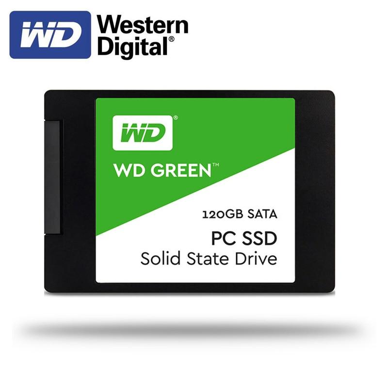 Western Digital WD SSD GREEN Desktop120GB 240GB 2.5 Inch SATA III HDD Hard Disk HD SSD PC 480GB 1TB Internal Solid State Drive
