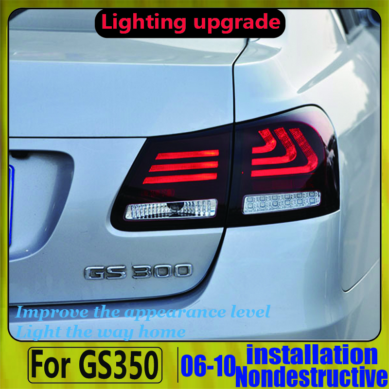 Car Styling for <font><b>Lexus</b></font> <font><b>Lexus</b></font> for <font><b>GS300</b></font> GS350 GS430 GS450 2006-2011 year Taillights image