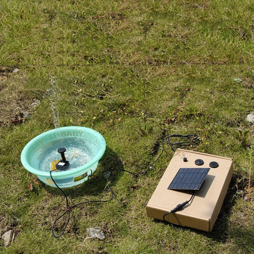 Солнечная энергия энергия фонтан сад бассейн пруд солнечная энергия панель плавучий фонтан сад украшение вода солнечная энергия фонтан