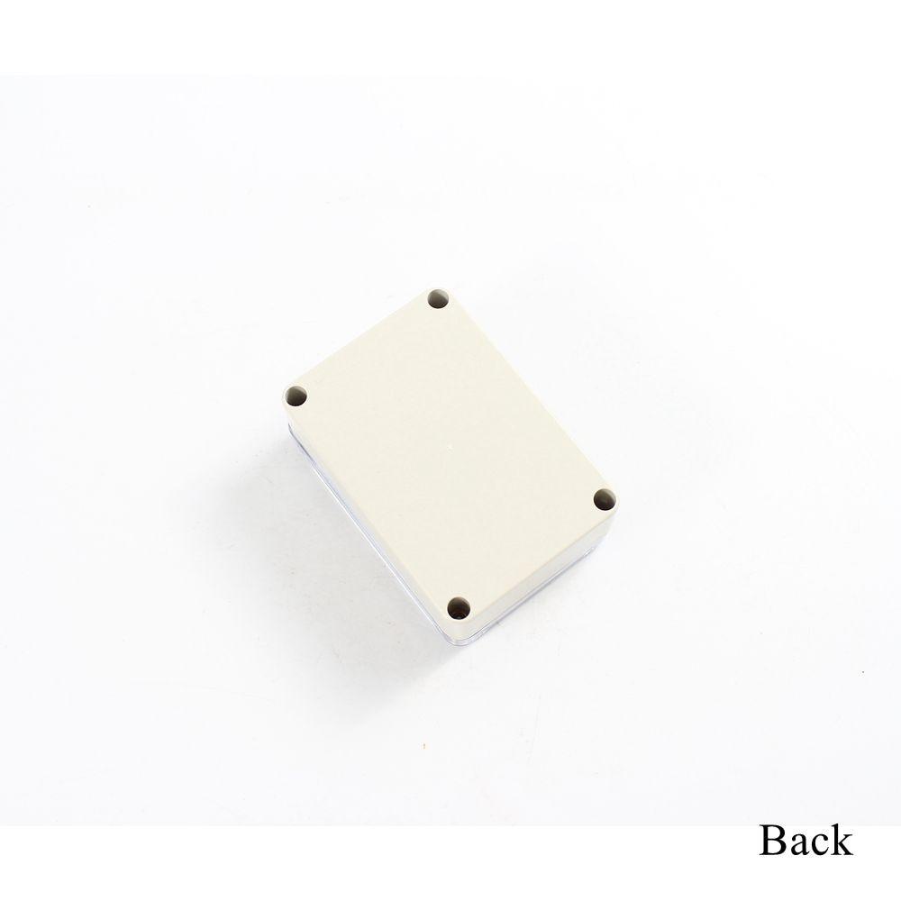 V 2PCS Transparent Clear ABS Plastic Case Box Enclosure for Raspberry Pi 2 B //B