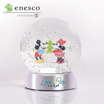 Disney Schaufenster Sammlung Mickey Maus Minnie Maus Kristall Ball Ornamente