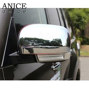 Image 2 - Cubierta cromada para espejo retrovisor lateral, para Mitsubishi PAJERO 2007, 2008, 2009, 2010, 2011, 2012, 2013, 2014, 2015, 2016, 2017, 2018, 2019