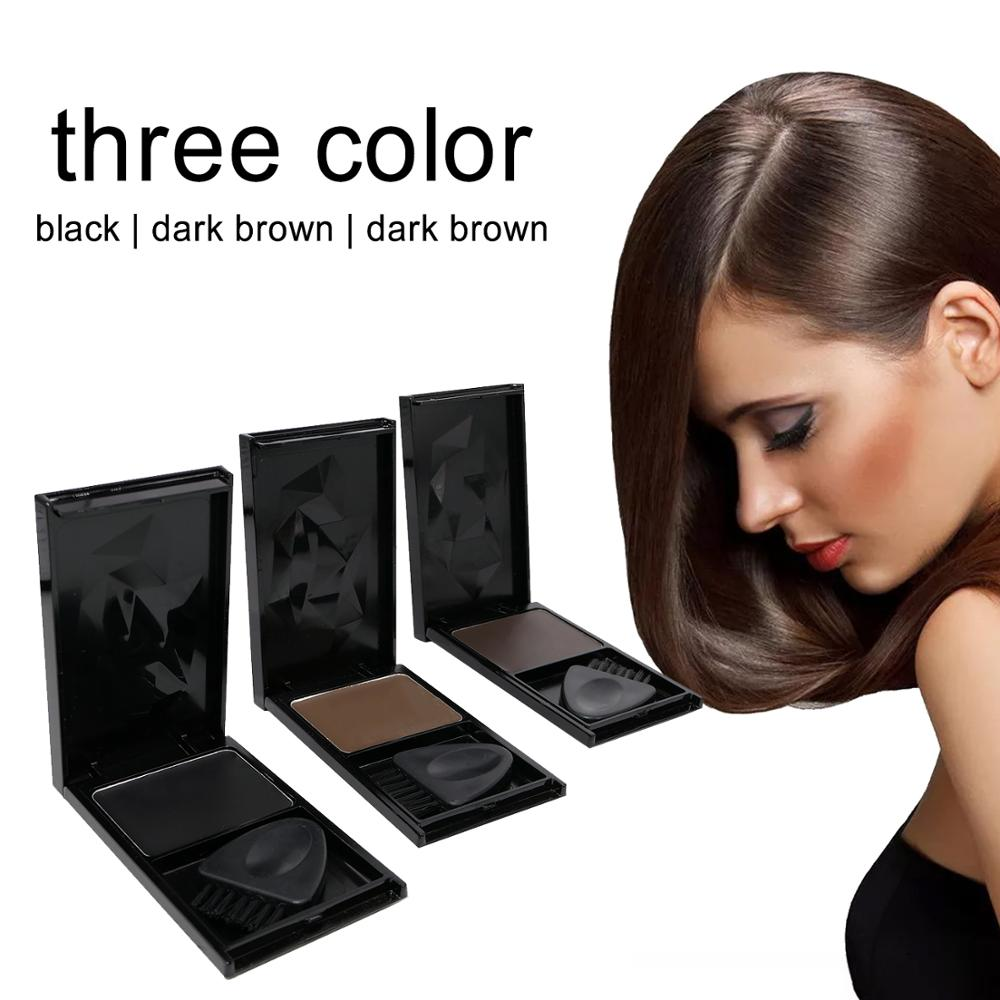 IMMETEE Hair Root Cover 5g, Hair Dye Hair Color To Covers The Grey Roots,3 Colors Can Choose