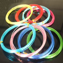 Colored aluminum wire can make clay model skeleton DIY handmade materials 5M/roll