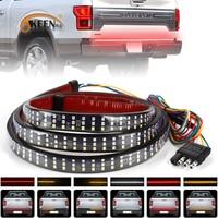 OKEEN 12V 49 zoll/60 zoll Auto Brems Wiederum Licht Warnung Signal Flexible LED Streifen Hinten Schwanz Laufen reverse Doppel-Lichter Rot