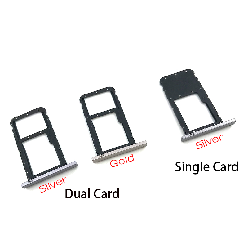 SIM Card Slot SD Card Tray Holder Adapter For Huawei MediaPad T3 10 AGS-L09 AGS-W09 AGS-L03 T3 9.6 LTE