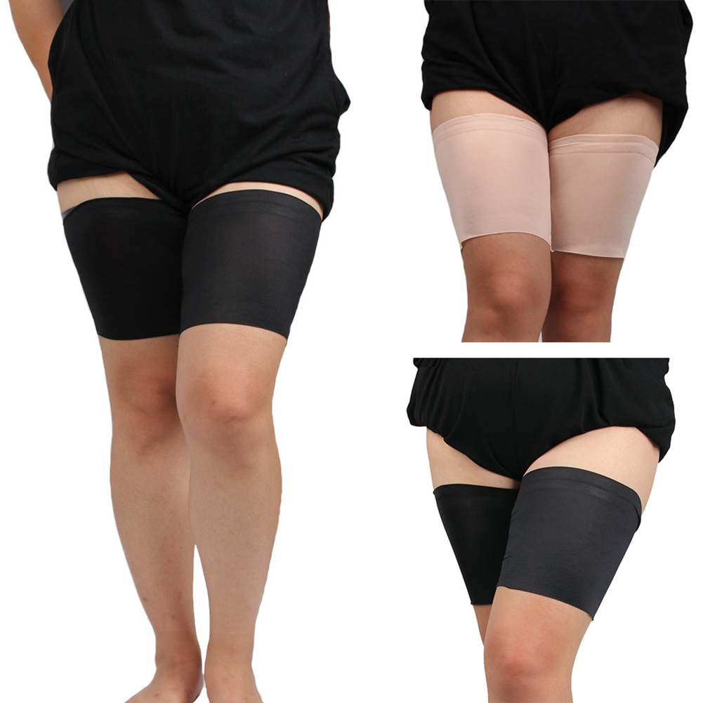 Leg Warmer Slimmer Band High Elastic Anti Chaffing Protection Thigh Bands Summer Unisex Thigh Garters Leg Warmers Beenwarmers