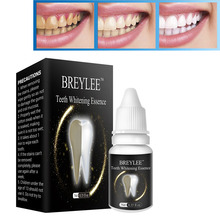 BREYLEE Teeth Whitening Essence White Cleaning Oral Hygiene Serum Removes Plaque Blemishes Dental Care