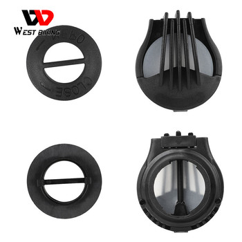 WEST BIKING Breathing Valves For Running Cycling Mask Activated Carbon Filter Mask PM 2.5 Anti-Pollution Sport Face Mask Filter