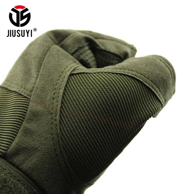 Тактические перчатки с твердыми костяшками без пальцев военные армейские велосипедные перчатки для стрельбы в Пейнтбол страйкбол мотоциклетные перчатки с половинными пальцами мужские и женские