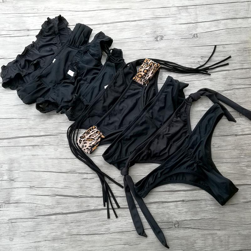 Woman Bikini Bottom Low Waist Trunks for Girl Swimming Swimsuit Biquini Brazilian Bottoms Sexy swimwear Secret Thong bottoms 1