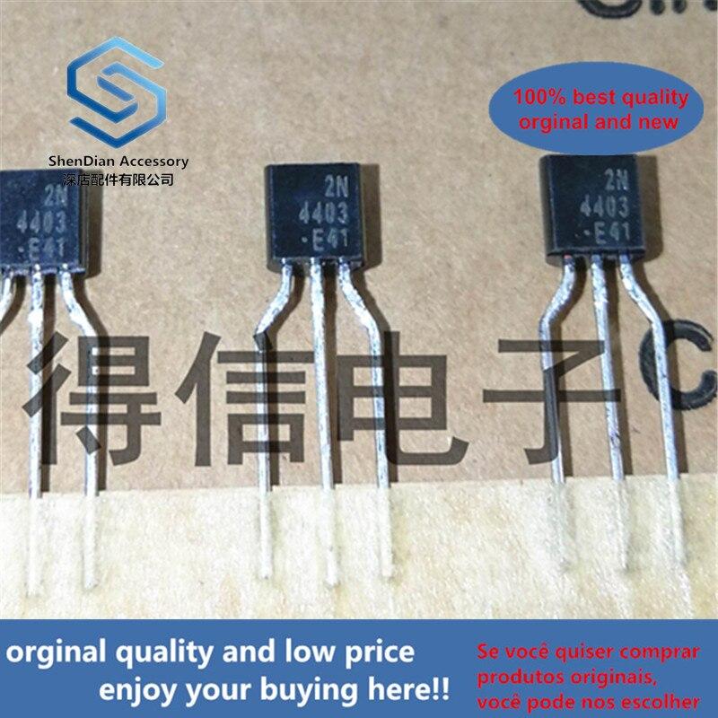 50pcs 100% Orginal New KA4403 2N4403 4403 PNP General Purpose Amplifier  To-92 Real Photo