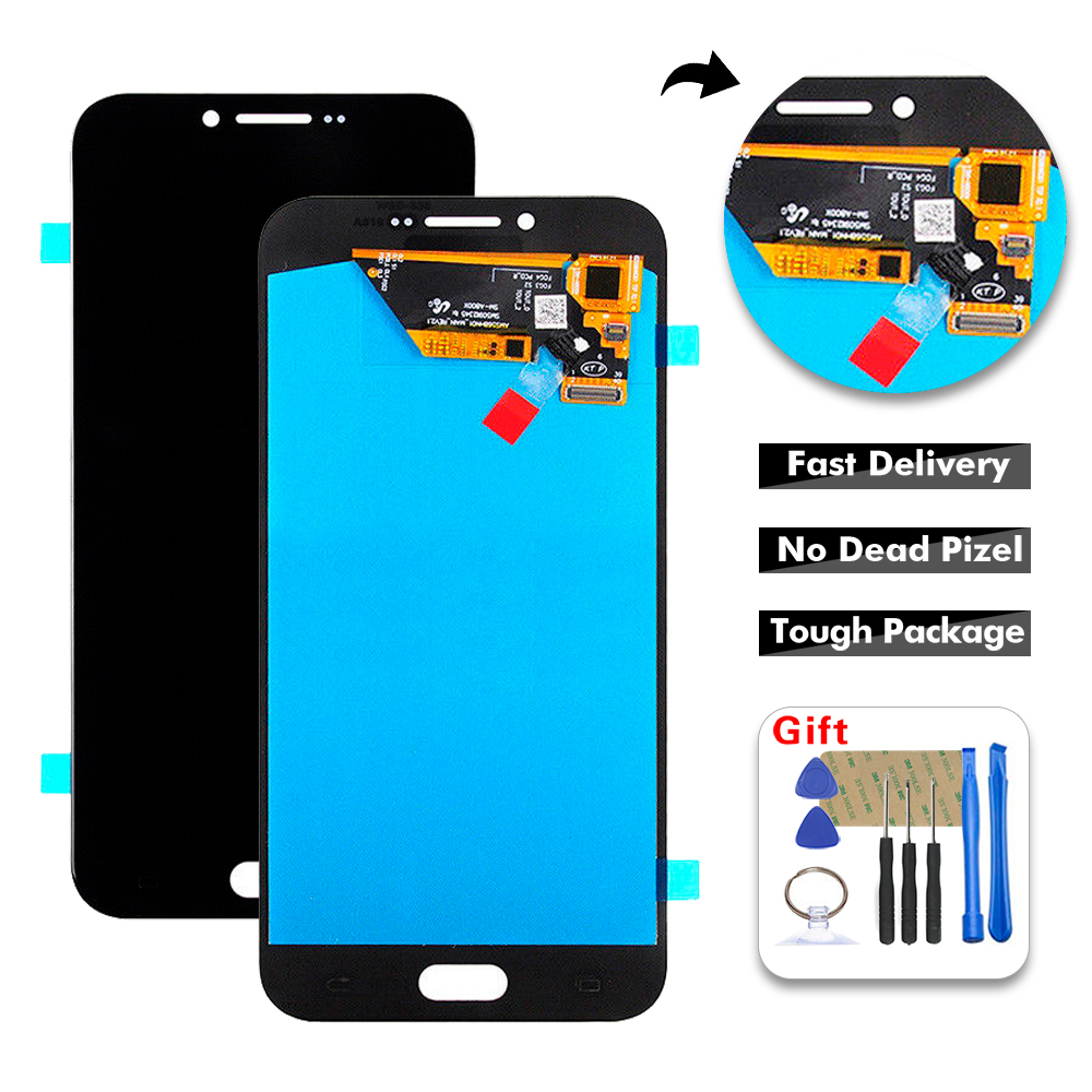 High Quality <font><b>LCD</b></font> For Samsung Galaxy A8 A800 <font><b>A8000</b></font> A800F <font><b>LCD</b></font> display Touch Screen Digitizer Assembly Replacement +Tools image