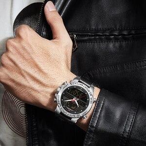 Image 5 - นาฬิกา NAVIFORCE นาฬิกาผู้ชายแบรนด์หรู Analog กีฬานาฬิกาข้อมือหนังแท้นาฬิกาผู้ชาย Relogio Masculino 9164