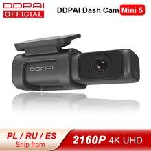 【FRMAY008】DDPAI – caméra de tableau de bord Mini 5 UHD DVR pour voiture, Android, 4K, Wifi intégré, GPS, stationnement 24H, 2160P, conduite automatique, vidéo du véhicule