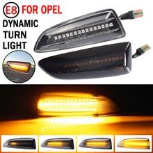 2pcs Led Dynamic Side Marker Turn Signal Light Sequential Blinker Light Emark For Opel Astra K 2015 2016 2017 2018 2019