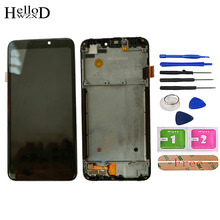 LCD Display For TP-Link Neffos C7S LCD Display With Touch Screen Digitizer Panel Assembly Replacement With Frame Tools