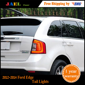 Jael Tail Lights Tail Lights Limited LED Tail Light For 2012-2014 Ford Edge  Rear Lamp DRL+Brake+Park+Signal