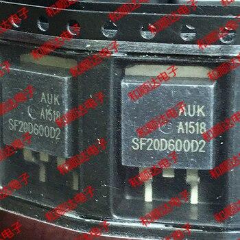 10 unids/lote SF20D600D2 nuevo lugar-263 600V 20A