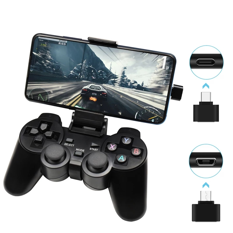Android Wireless Gamepad For Android Phone PC PS3 TV Box Joystick 2 4G USB Joypad Game Controller For Xiaomi Smart Phone