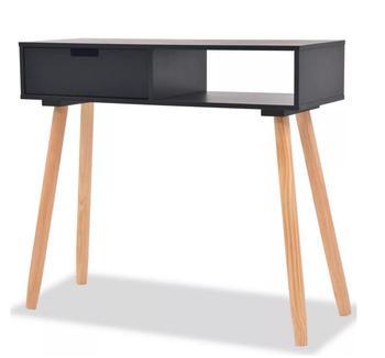 Stałe drewno sosnowe biały stół konsolowy meble do przechowywania meble do salonu tanie i dobre opinie CN (pochodzenie) Stół konsoli meble do domu