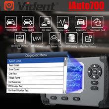 Original VIDENT iAuto700 iAuto 700 All System Diagnosis with engine, transmission, ABS, Airbag functions