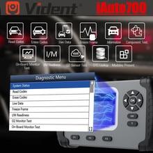 جميع تشخيص النظام الأصلي VIDENT iAuto700 iAuto 700 مع المحرك ، ناقل الحركة ، ABS ، وظائف الوسادة الهوائية