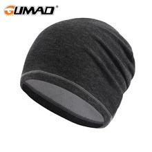 Winter Thermal Warm Cap Running Sport Hat Black Pink Gray Brown Soft Fishing Snowboard Hiking Cycling Windproof Skiing Men Women(China)