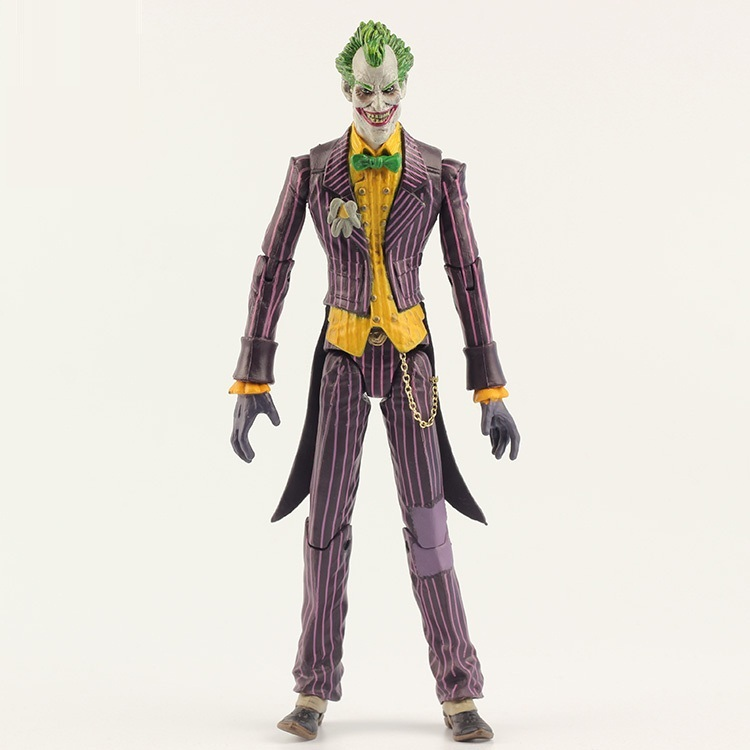 Animation Garage Kid American Superhero Collection Model Toy: DC Comics Action Figure PVC Dolls Popular Villains The Joker Model image