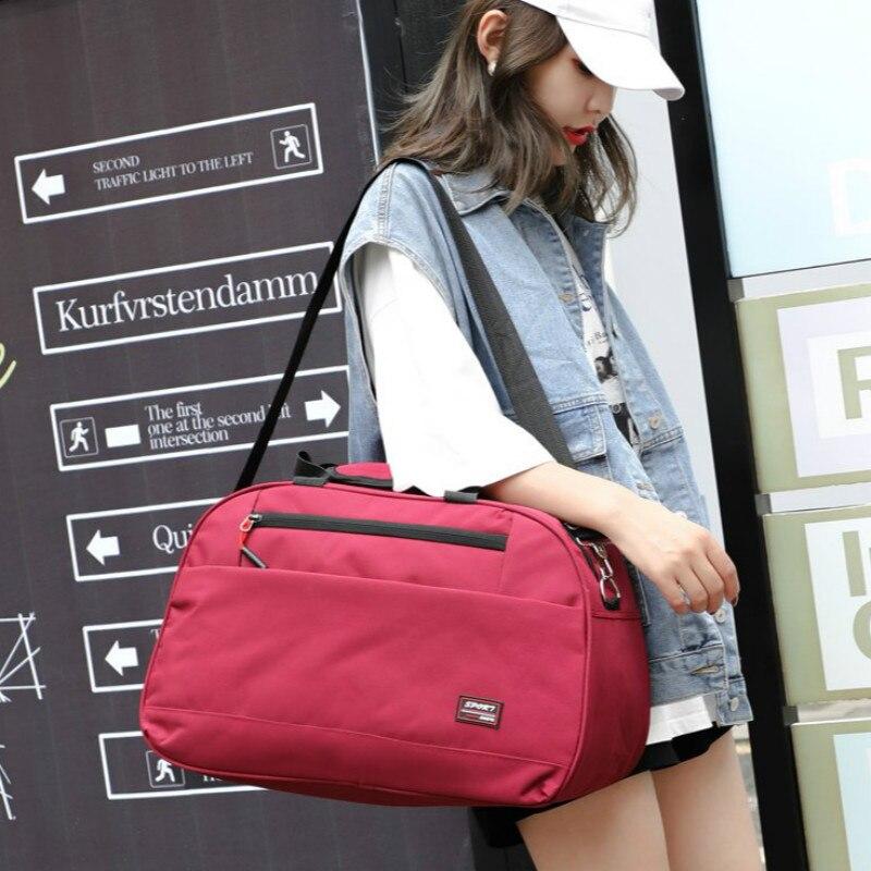 Luggage Bags Unisex Large Capacity Travel Bag Casual Canvas Handbags Fashion Fitness Bag Multifunction Sports Handbag