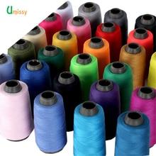 Катушка многоцветная швейная нить 1300Y промышленная швейная нить машина 40 S/2 Нитки Швейные аксессуары