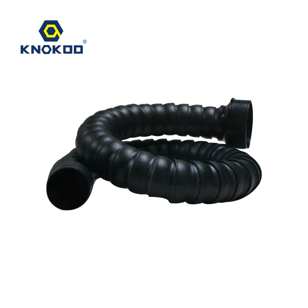 KNOKOO 1.2M Bamboo Smoking Duct,Smoking Pipe For FES150 Fume Extractor,Welding Smoke Absorber
