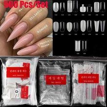 Искусственные ногти без маркировки 500 шт искусственные белые