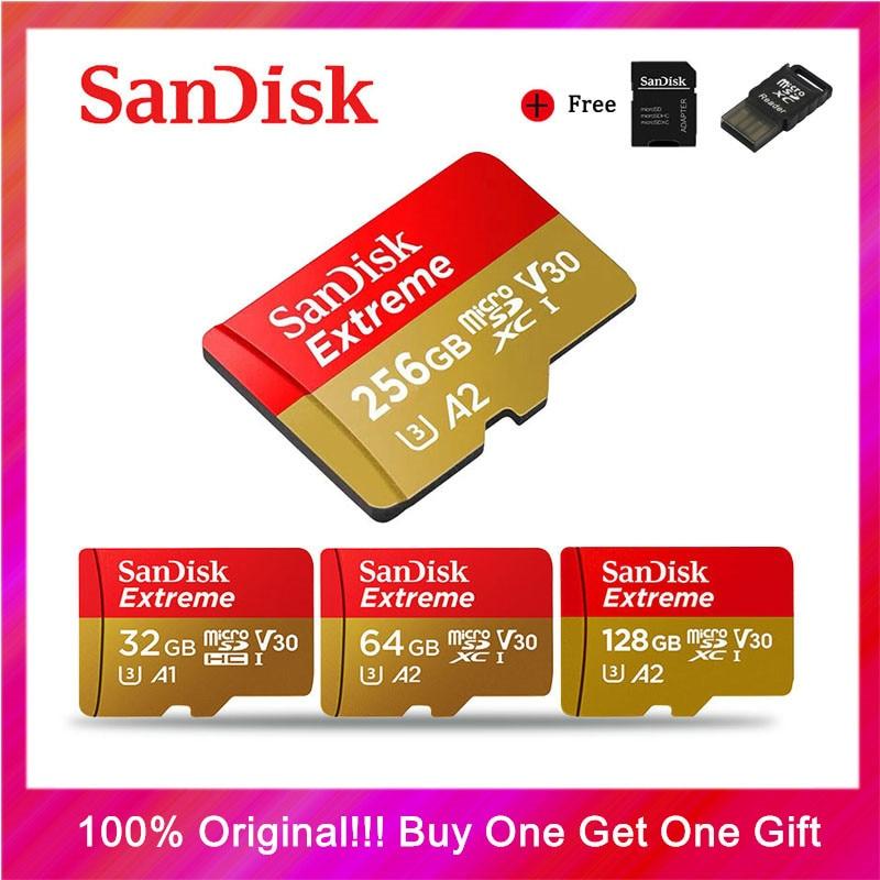 SanDisk карта памяти Micro SD, 256 ГБ, 400 гб, 128 ГБ, 64 ГБ, 32 ГБ-0