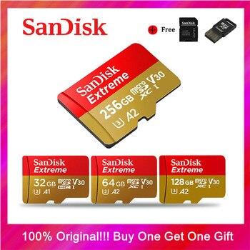 SanDisk карта памяти Micro SD, 256 ГБ, 400 гб, 128 ГБ, 64 ГБ, 32 ГБ