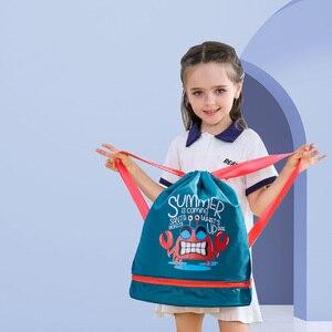 Image 5 - Sunveno水泳バッグウェット/ドライバッグ子供水泳pe袋巾着バックパック