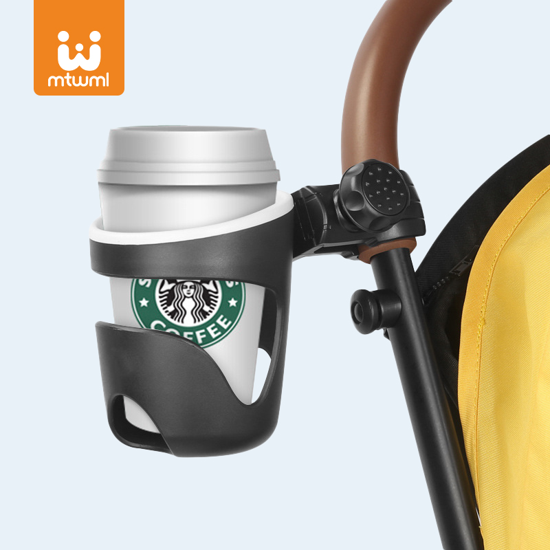 Cup Holder for Baby Stroller Bottle Holder Universal 360 Rotatable Baby Stroller Cup Holder Carrying
