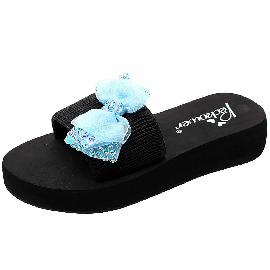 Details about  /Kids Child Beach Shoes Floral Butterfly Bohemian Style Sandals Summer Slippers