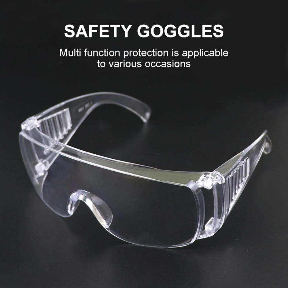 Safety Cover 2 Safety Glasses Protective Eye Wear Over-The-Glass (OTG) Clear Lens For Cycling Eyewear Googles Glasses